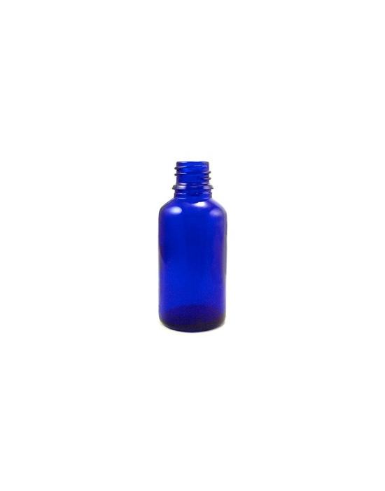 Bachblüten / Blütenessenzen Blauglas-Flaschen 30 ml für Therapeuten