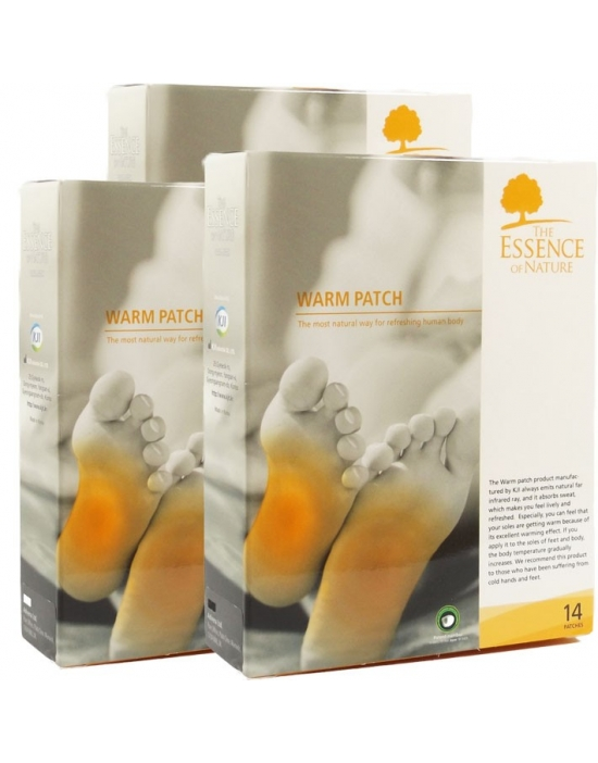 Vitalpflaster Warm 42 er Packung - The Essence of Nature