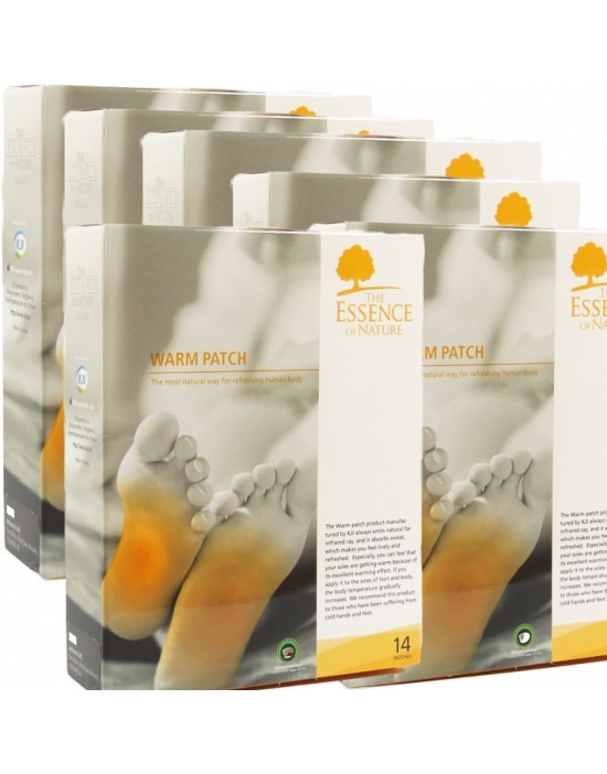 Vitalpflaster Warm 84 er Therapeuten Packung - The Essence of Nature