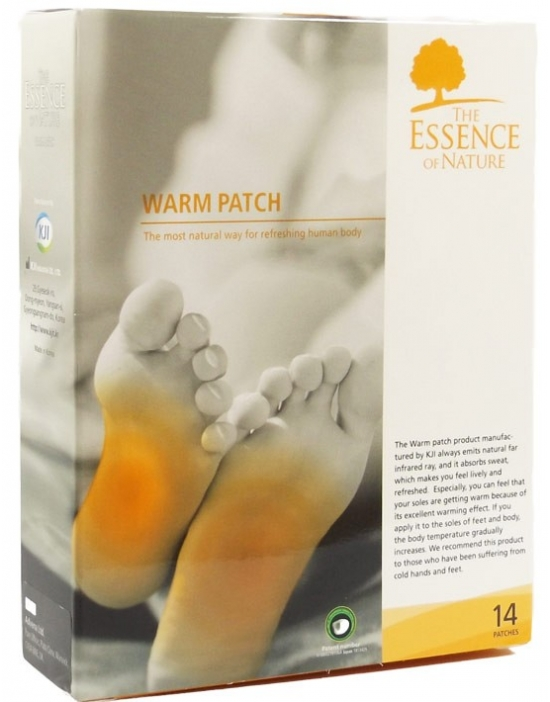 Vitalpflaster Warm 14 er Packung - The Essence of Nature