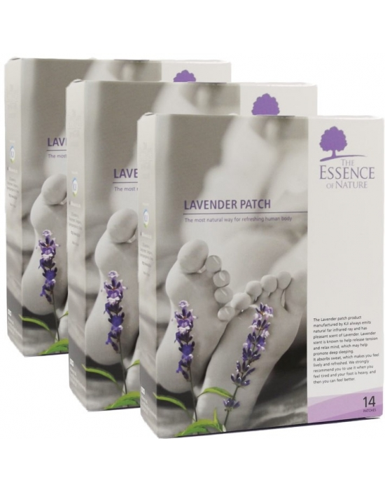 Vitalpflaster Lavendel 42 er Packung - The Essence of Nature
