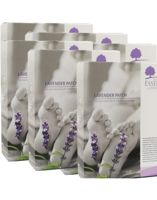 Vitalpflaster Lavendel 84 er Therapeuten Packung - The Essence of Nature