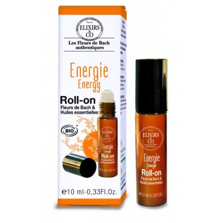 Bio Bachblüten Roll-On Energie - 10ml