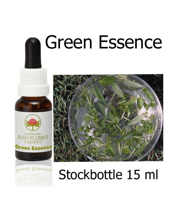 GREEN ESSENCE Australian Bush Flower Essences Stockbottles 15 ml essenze floreali