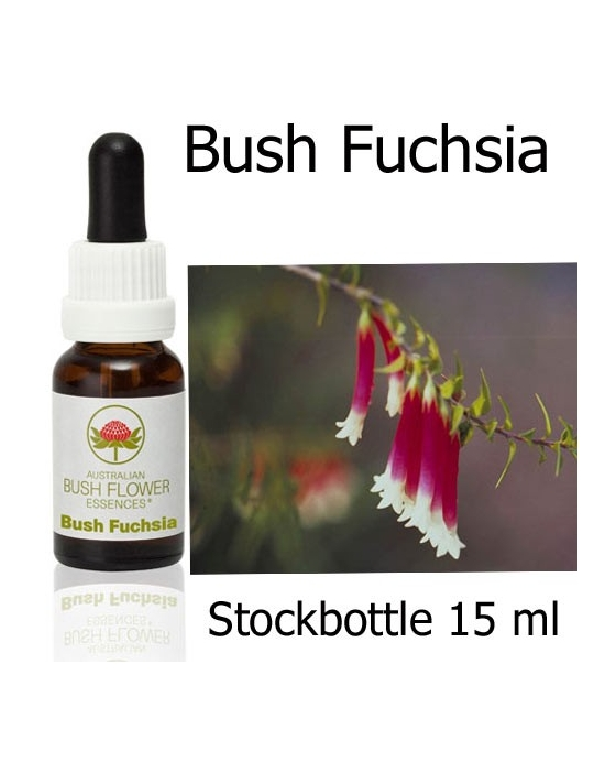 BUSH FUCHSIA 15 ml Australian Bush Flower Essences