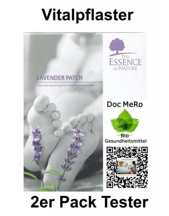 Vitalpflaster Tester Lavendel