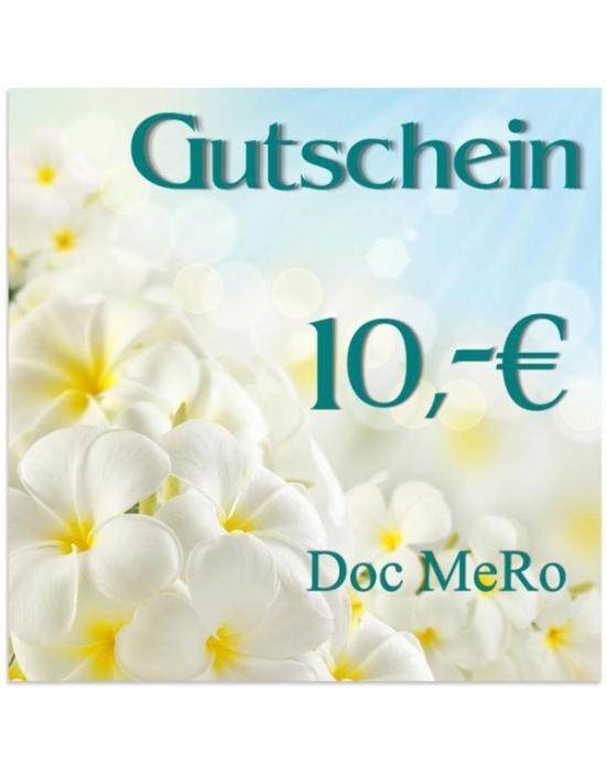 10,- € Geschenk-Gutschein DM