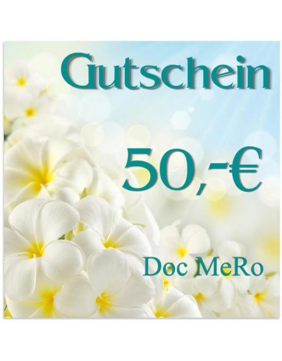 50,- € Geschenk-Gutschein DM