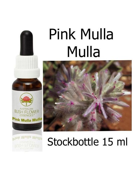 Pink Mulla Mulla Australische Buschblüten Stockbottles 15 ml