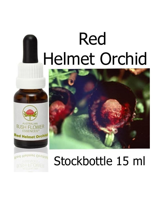 RED HELMET ORCHID 15 ml Australian Bush Flower Essences