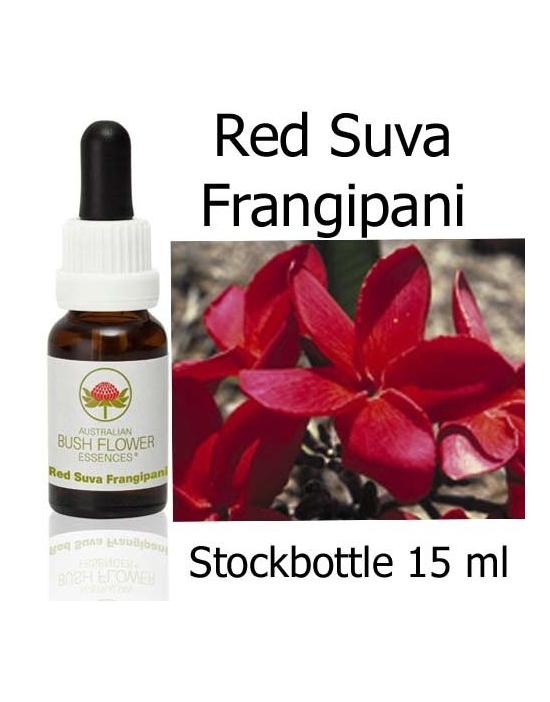 Red Suva Frangipani Australian Bush Flower Essences
