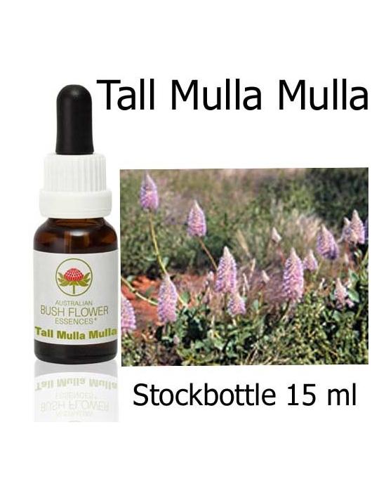 Australian Bush Flower Essences TALL MULLA MULLA Stockkbottles 15 ml