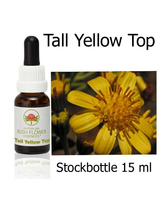 Australian Bush Flower Essences TALL YELLOW TOP Stockbottles 15 ml