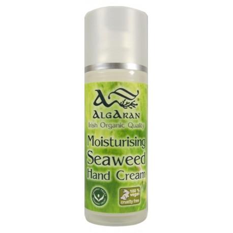 Organic Seaweed Hand Cream crema per mani dosatore 50 ml Algaran Bio cosmetica naturale
