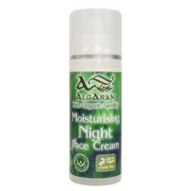 Seaweed Night Cream Nachtcreme Spender 50 ml Algaran Bio Algen Naturkosmetik