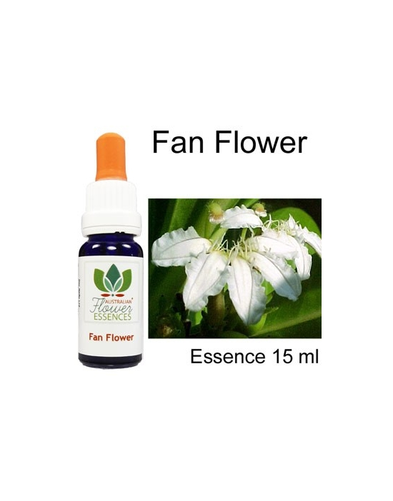 FAN FLOWER Australian Flower Essences 15 ml Love Remedies