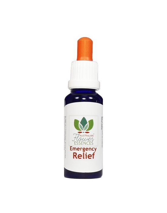 EMERGENCY-RELIEF  Australian Flower Essences Blends flower remedies