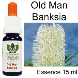 OLD MAN BANKSIA Australian Flower Essences 15 ml Love Remedies