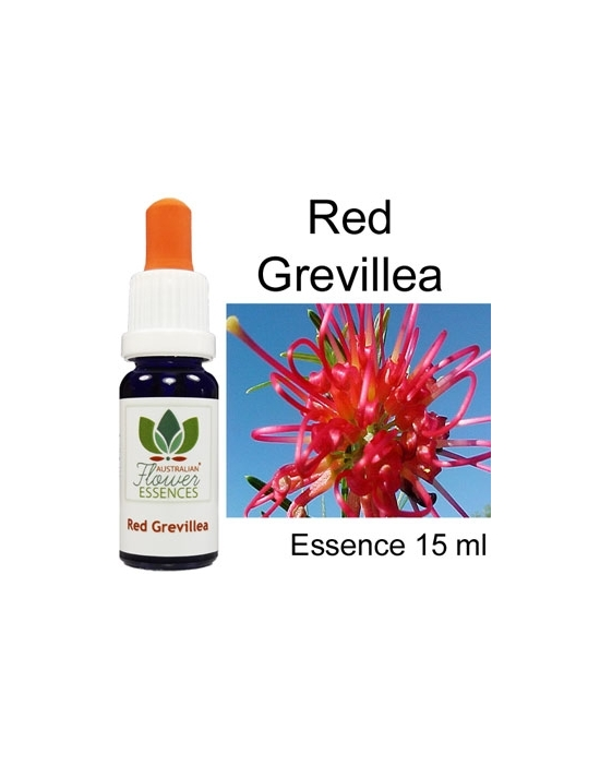 RED GREVILLEA 15 ml Australian Flower Essences fiori australiani