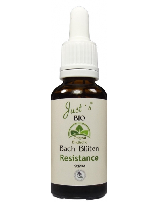 Resistance Organic Bach Flower Remedies Blends 30 ml