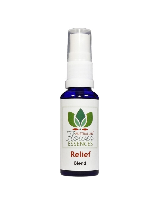 Buschblüten Vitalspray Relief / Notfall Australian Flower Essences Love Remedies