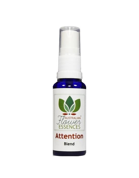 Attention Aufmerksamkeit Blütenessenzen Vitalspray