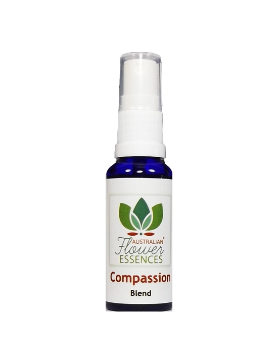 COMPASSION  Australian Flower Essences Blends flower remedies