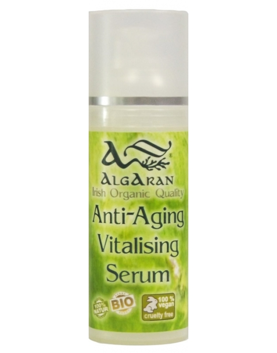 Anti Aging Vitalising Serum Algaran irish organic cosmetics