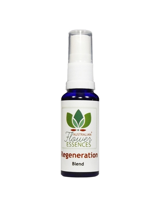 REGENERATION Blend Australian Bush Flower Essences essenze floreali australiane