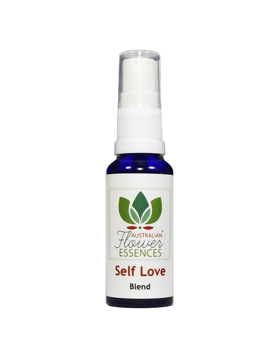 Self Love Amore per se stesso spray vitali 30 ml Australian Flower Essences