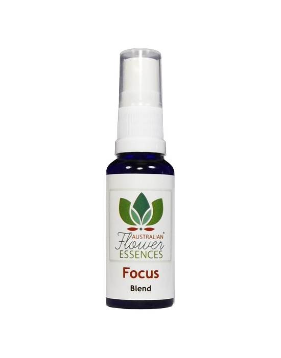 Focus Konzentration Australische Buschblüten Vitalsprays 30 ml Australian Flower Essences