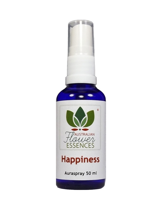 Happiness Freude Australische Buschblüten Auraspray Australian Flower Essences