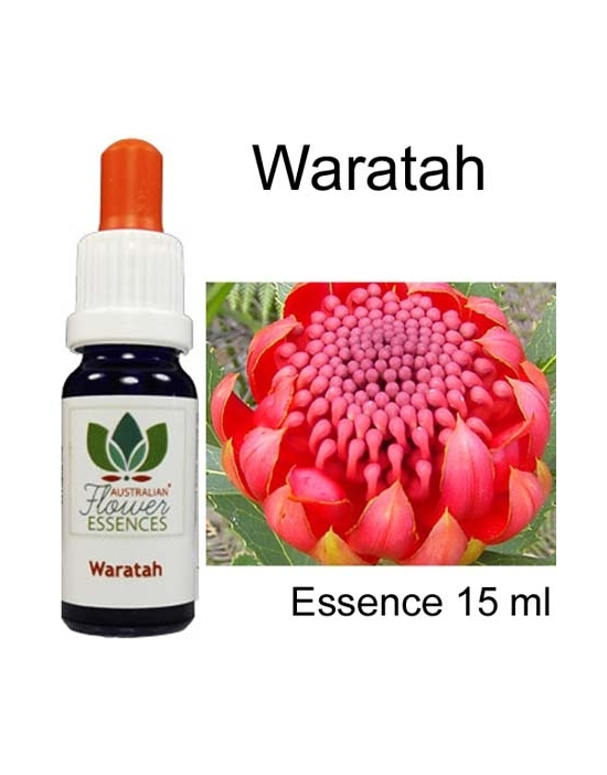 WARATAH 15 ml Australian Flower Essences Essenze australiane