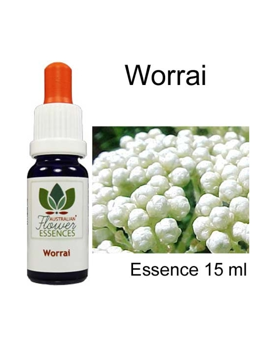 WORRAI 15 ml Australian Flower Essences Essenze australiane