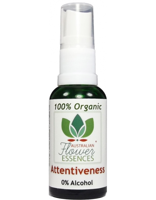 Attentiveness Organic Blend Australian Flower Essences