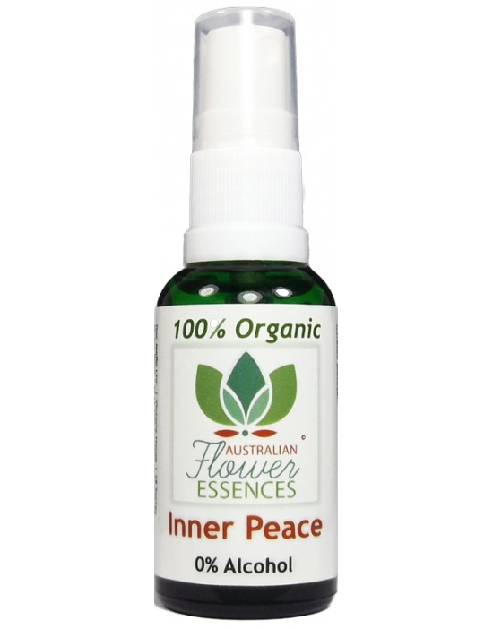Inner Peace Organic Blend Australian Flower Essences