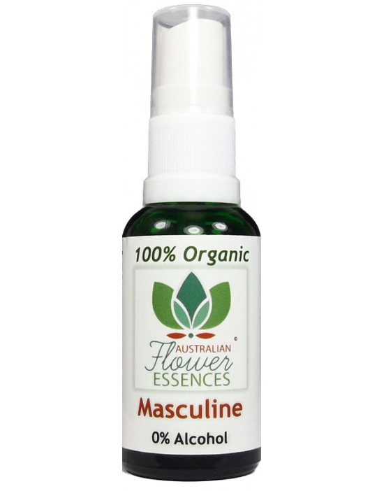 Masculine Organic Blend Australian Flower Essences