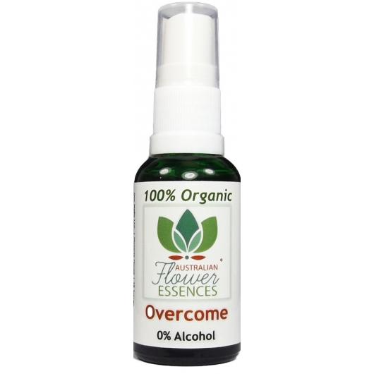 Overcome Organic Blend Australian Flower Essences