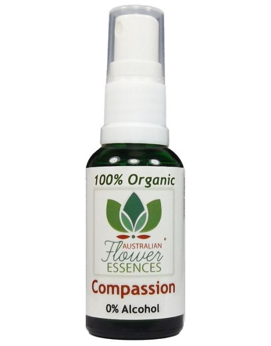 Compassion Compassione Organic Blend Australian Flower Essences