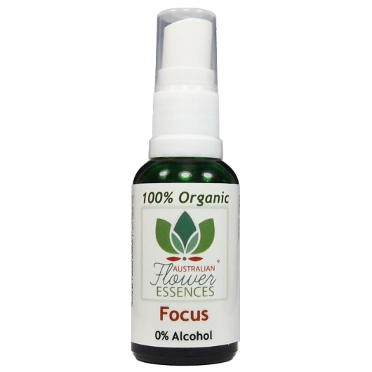 Focus Organic Blend Australian Flower Essences