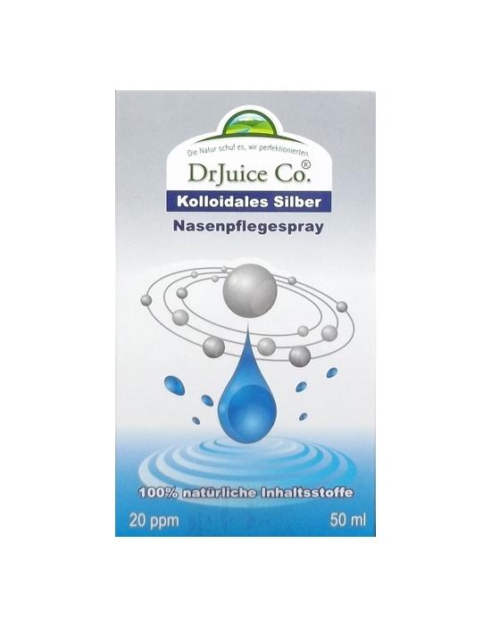 kolloidales Silber von Dr. Juice Pharma als Nasenspray