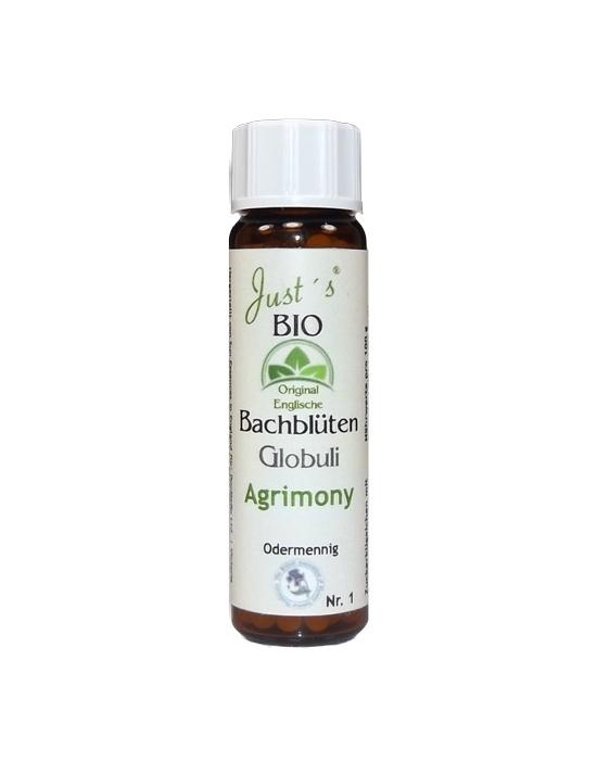 Globuli Agrimony Nr. 1 original englische Bio Bachblüten alkoholfrei Odermennig