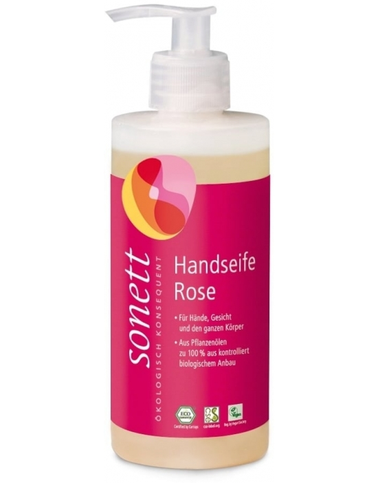 Sonett Handseife Rose 300 ml