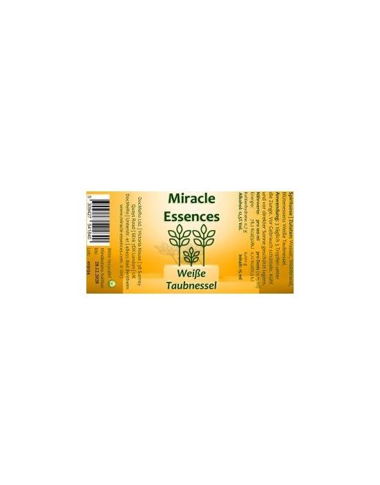 Weiße Miracle Essences Blütenessenzen