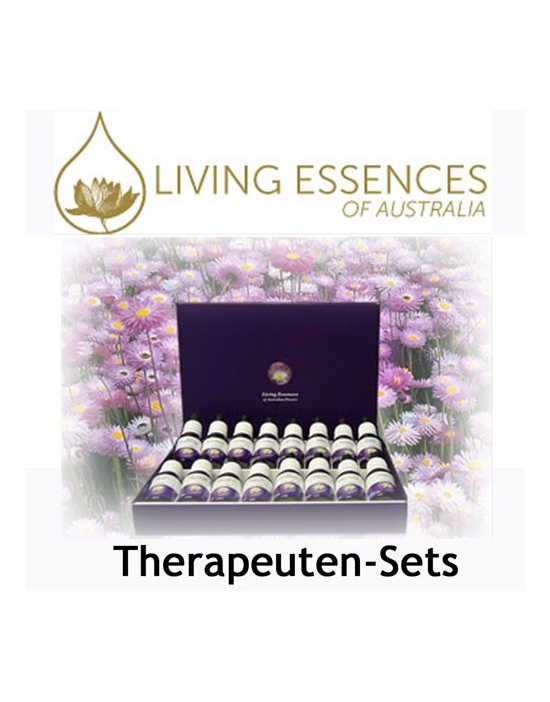 Therapeuten Set Living Essences 88 Stockbottles a 15 ml Australische Bachblüten