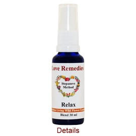 RELAX Rilassamento spray vitali 30 ml Australian Bush Flower Essences Love Remedies