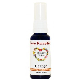 CHANGE Cambiamento spray vitali 30 ml Australian Bush Flower Essences Love Remedies