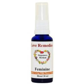 FEMINE Feminilità spray vitali 30 ml Australian Bush Flower Essences Love Remedies