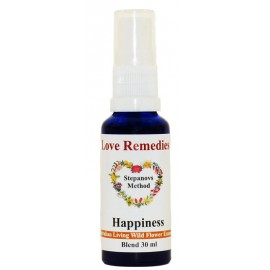HAPPINESS Felicità spray vitali 30 ml Australian Bush Flower Essences Love Remedies