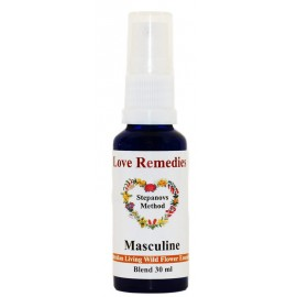 MASCULINE Virilità spray vitali 30 ml Australian Bush Flower Essences Love Remedies